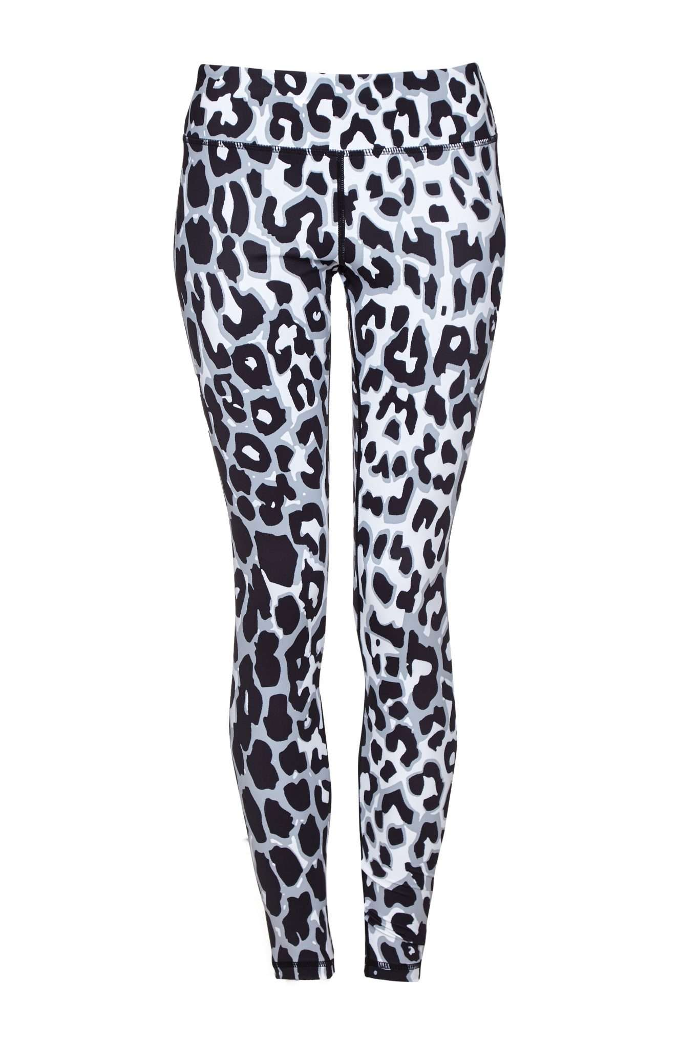 Snow Leopard Higher Waisted Leopard Print Leggings