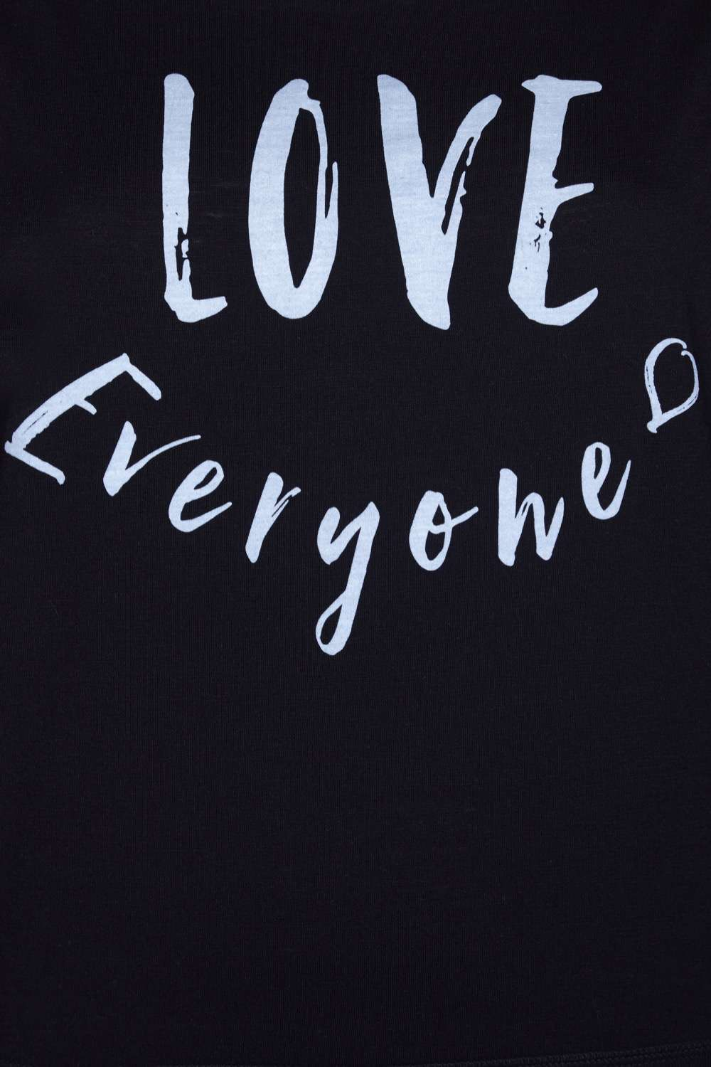 Love Everyone: YOGALEGGS LIMITED EDITION BLACK/WHITE LOVE EVERYONE SLOGAN